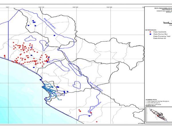 Peta Data Primer (CAT) Bengkulu