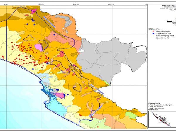 Peta Geologi (CAT) Bengkulu