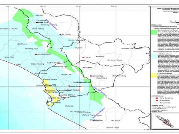 Peta Zona Konservasi Air Tanah 300dpi