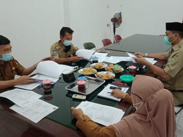 Rapat Tim Penilai Angka Kredit JFT di Lingkungan Dinas ESDM Provinsi Bengkulu